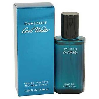 Cool Water By Davidoff Eau De Toilette Spray 1.35 Oz (men) V728-402077