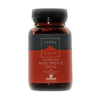 Terranova Milk Thistle 500mg Vegicaps 100 (T3371)