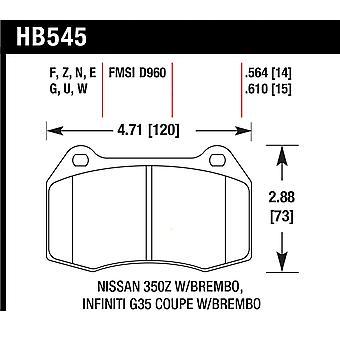 Hawk Leistung HB545U.564 DTC-70