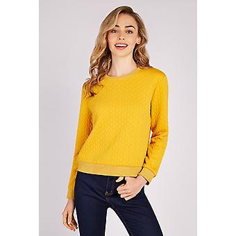 Louche Jan Twist sweatshirt Mustard