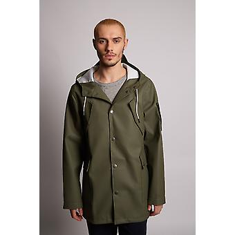 Hymn Jimmy Khaki Raincoat Black