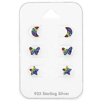 Rainbow - 925 Sterling Silver Sets - W38734X