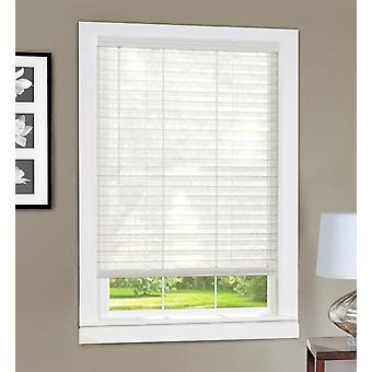 Achim Home Furnishings LVCO27WH06 Light Vane 2-Inch Slat Blind, 27 by 64-Inch, White