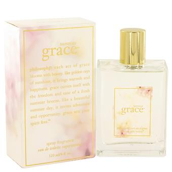 Summer Grace by Philosophy Eau De Toilette Spray 4 oz / 120 ml (Women)
