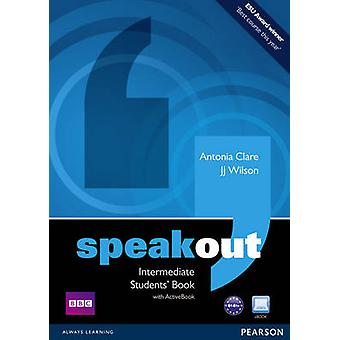 Speakout Intermediate Students book and DVDActive Book Multi Rom Pack by Antonia Clare & J J Wilson