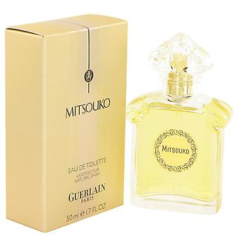 MITSOUKO de Guerlain Eau De Toilette Spray 1.7 oz/50 ml (femmes)