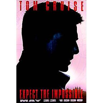 Mission Impossible (Advance) (einseitig) Original Kino Poster