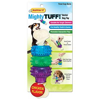Mighty Tuff Treat Cup Bone Dog Toy- 80650