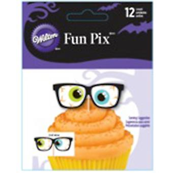 Fun Pix Halloween Eyes 12 Pkg W2367