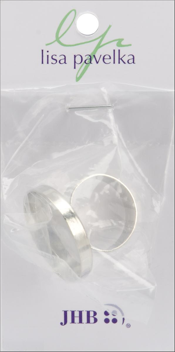 Lisa Pavelka Ring Form 1 Pkg Silver Round Lp27371