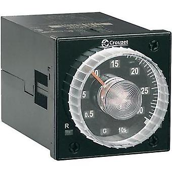 Crouzet 88886016 Time Delay Relay, Timer, IP50 (front)