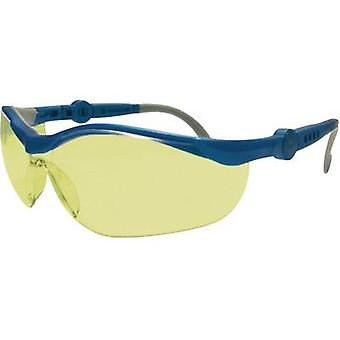 Upixx 26751 Cycle Ergonomic safety glasses, yellow Plastic EN 166F