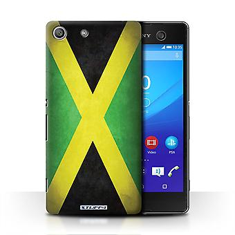 STUFF4 Case/Cover for Sony Xperia M5/Jamaica/Jamaican/Flags