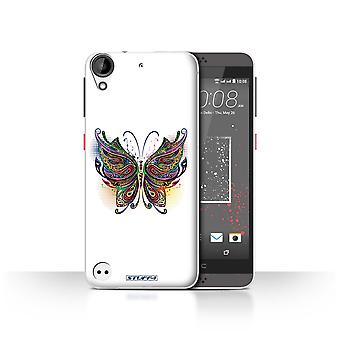 STUFF4 Case/Cover for HTC Desire 530/Butterfly/Ornamental Animals