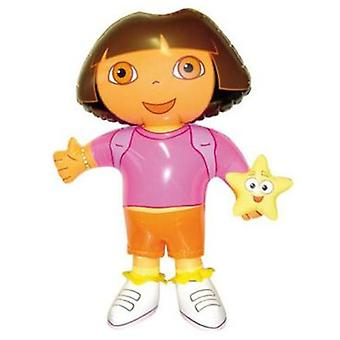 Nickelodeon Figure Hinchable Dora 52cm (Outdoor , Pool And Water Games , Inflatables)