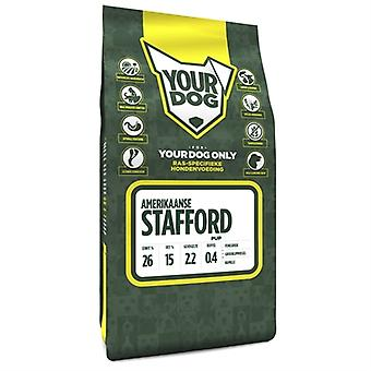 YOURDOG AMERIKAANSE STAFFORD PUP 3 KG
