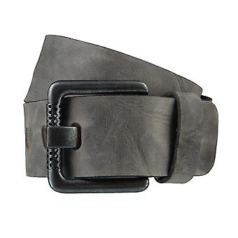 BERND GÖTZ belts men's belts leather belt taupe/grey 3714