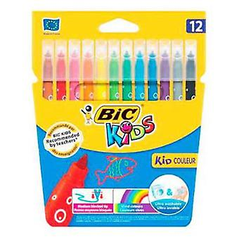 Bic Case 12 Highlighters Kids Couleur (Toys , School Zone , Drawing And Color)