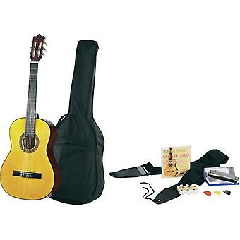 Classical guitar kit MSA Musikinstrumente C22 4/4 Ecru incl. gig bag