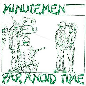 Minutemen - Paranoid tid [Vinyl] USA importerer