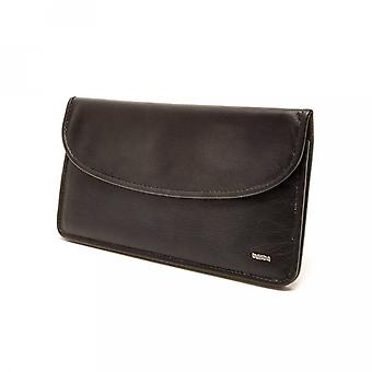 Berba Leather Womens wallet Soft 001-164-00 Black