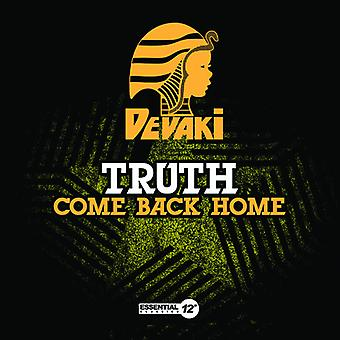 Truth - Come Back Home USA import