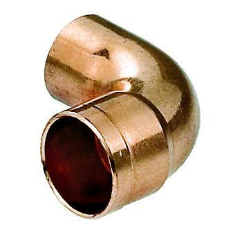 Vand Pipe Fitting albue kobber-stik lodde mandlige x kvindelige 18mm Diameter
