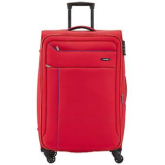Travelite Solaris 4 wheels soft luggage trolley suitcase L 77 cm