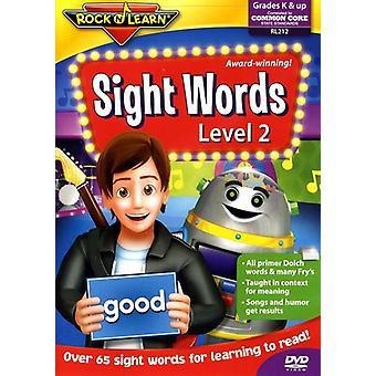 Rock'N Lær - Sight ord niveau 2 [DVD] USA import
