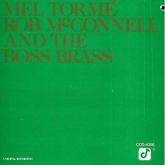 Torme/McConnell - And the Boss Brass [CD] USA import