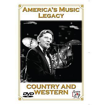 Americas musik arv-land & Western [DVD] USA importerer