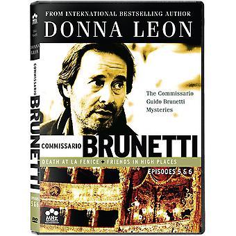 Commissario Guido Brunetti mysterier: Døden på La Fenice/venner i høje steder [DVD] USA importerer