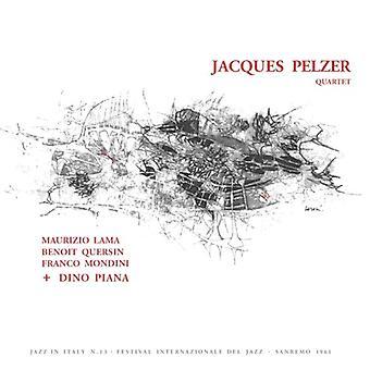 Jacques Pelzer Quartet - Jacques Pelzer Quartet Featuring Dino Piana [Vinyl] USA import