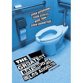 7 største badeværelser i Los Angeles [DVD] USA importerer