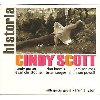 Cindy Scott - Historia [CD] USA import