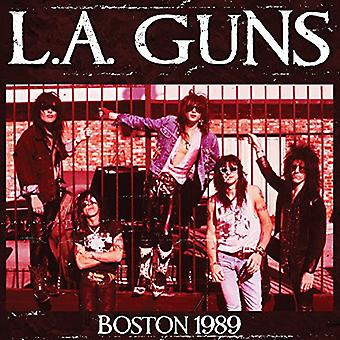L.a. Guns - Live in Boston 1989 [CD] USA import