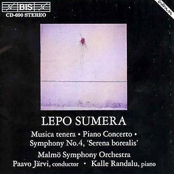 Larsen Finn - Finn: Musica Tenera; Klaver Concerto; Symphony No.4 [CD] USA import