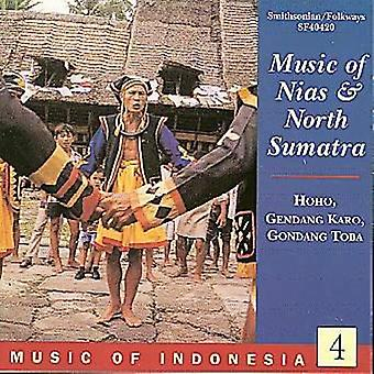 Music of Indonesia 4 - Music of Nias & North Sumatra [CD] USA import