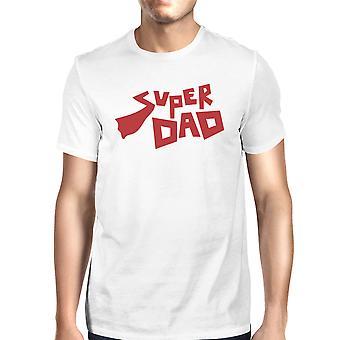 Super prezent dzień ojca tata T-Shirt białe bawełniane prezenty dla nowych tata