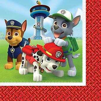 Paw Patrol lunch servetter [16 Per Pack]