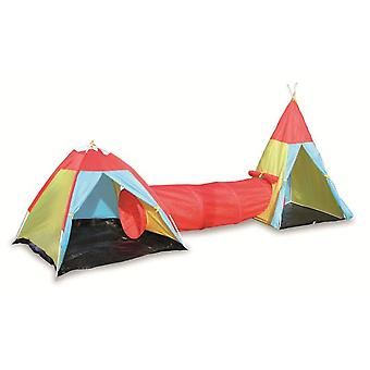 Legler Tent With Tunnel Link (Garden , Games , Houses)