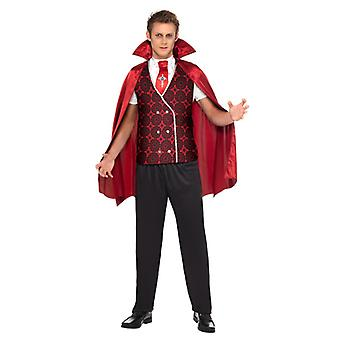 Vampire costume 3-piece vampire Dracula suit Halloween costume men