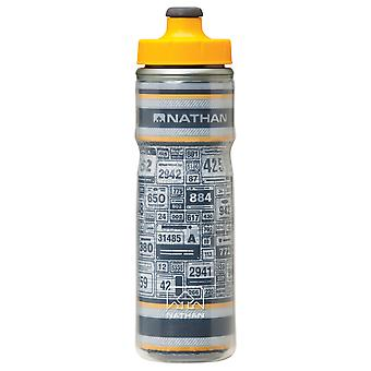 Nathan R2R Fire & Ice Bottle 600ml Trinkflasche Grey-Orange 4423NG