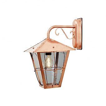 Konstsmide Fenix Rolled Copper Wall Lantern