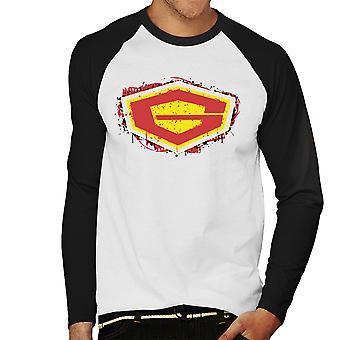G Force Guardian Of Space Men's Baseball Long Sleeved T-Shirt