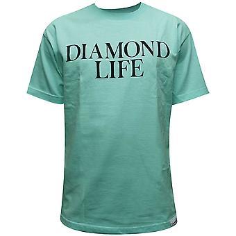 Diamant Supply Co Diamond Life T-Shirt Diamond Blue