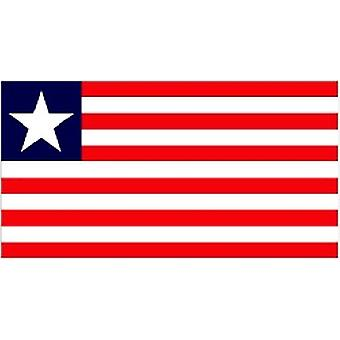 Liberia Flag 5ft x 3ft With Eyelets For Hanging