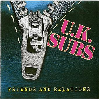 Uk Subs - Friends & Relations [CD] USA import