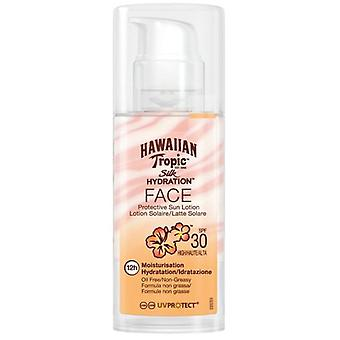 Hawaiian Tropic Sun Protection Lotion SPF 30 Silk Hydration Face