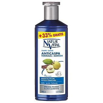 Naturaleza y Vida Champu Anticaspa Cabello Normal 300 + 100 ml